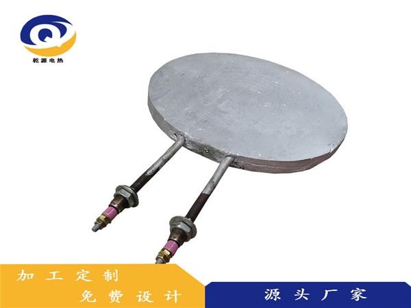 圆形铸铝加热板